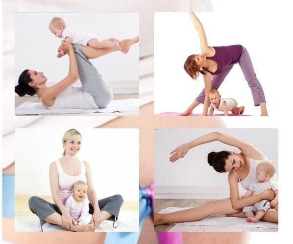 Tập luyện nhẹ nhàng để giảm cân sau sinh mổ