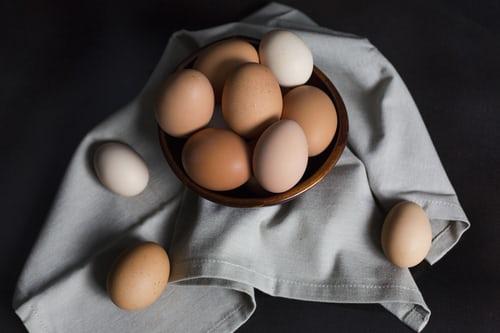 calo trong trứng gà
