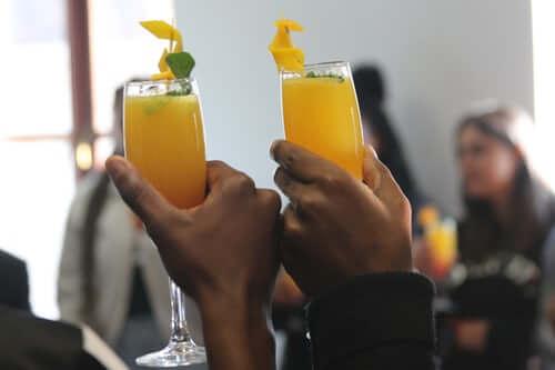 Uống nước cam giảm cân