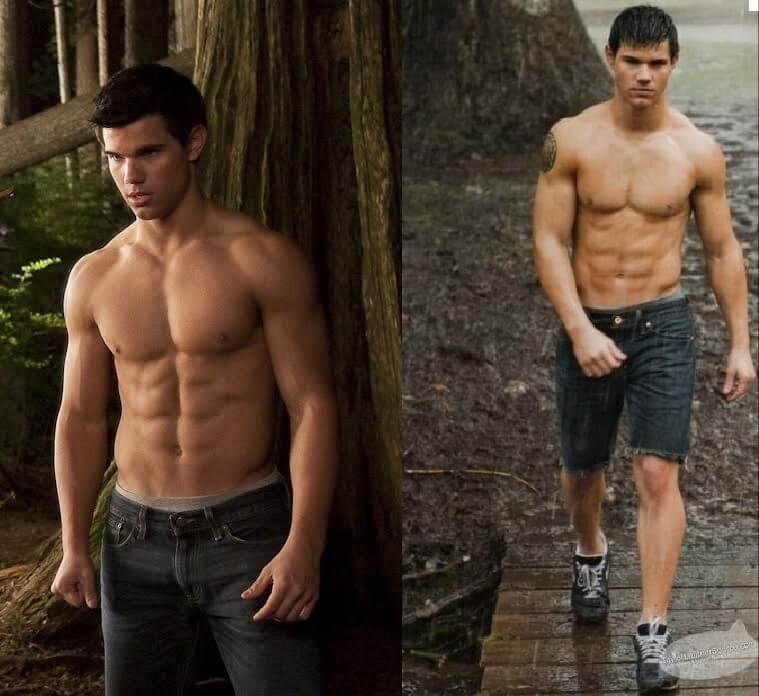Ảnh body nam đẹp của Taylor Lautner