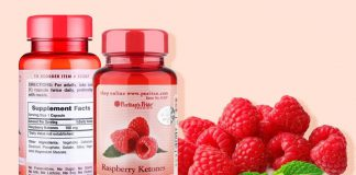 Puritan's Pride raspberry ketones 100mg là thực phẩm chức năng chiết xuất hoàn toàn tự nhiên, an toàn khi sử dụng