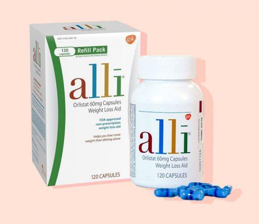 Alli Orlistat là một loại thuốc giảm cân hiệu quả, an toàn, có thể được sử dụng kèm với chương trình giảm cân