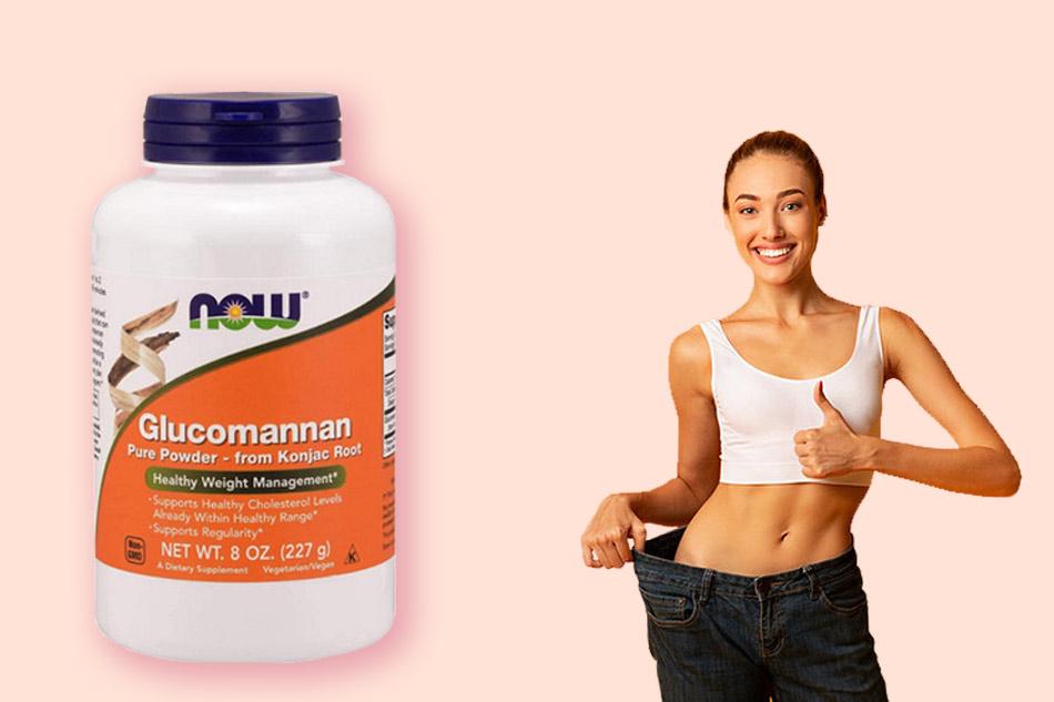 Viên uống hỗ trợ giảm cân Glucomannan có tốt không?