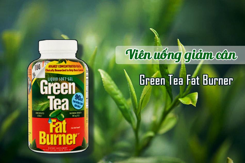 Viên uống Green Tea Fat Burner có nguồn gốc từ Mỹ, luôn đảm bảo tính an toàn và hiệu quả
