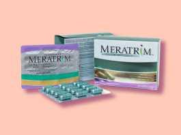 Viên uống giảm cân Meratrim được chiết xuất từ thiên nhiên sẽ hỗ trợ giản giảm cân một cách hiệu quả, an toàn.